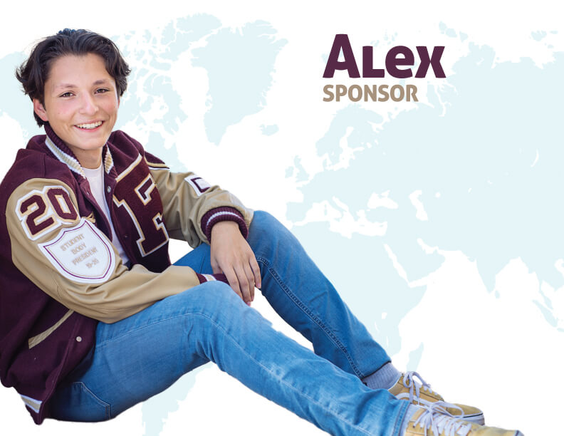 World Changer and sponsor Alex
