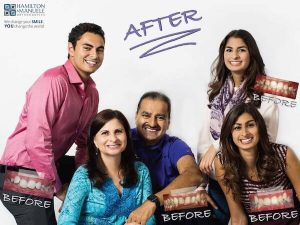 family before and after treatment